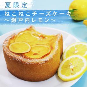 ねこねこチーズケーキ瀬戸内レモン
