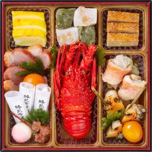 桜餅つき六段おせち-1
