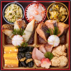 桜餅つき六段おせち-3