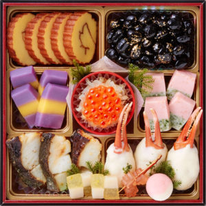 桜餅つき六段おせち-4