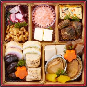 桜餅つき六段おせち-6